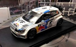 VW POLO WRC DRIVER VERSIONS OGIER/LATVALA/MIKKELSEN SKALA 1:24