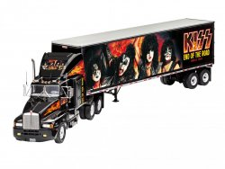 "GÅVOSET: KISS TOUR TRUCK ""END OF THE ROAD"" SKALA 1/32"