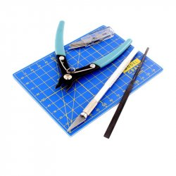 9 PC PLASTIC MODELLING TOOL SET