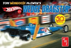 "TOM ""MONGOOSE"" MC EWEN FANTASY WEDGE DRAGSTER (HOR WHEELS) SKALA 1:25"