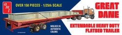 GREAT DANE EXTENDABLE FIAT BED TRAILER SKALA 1:25