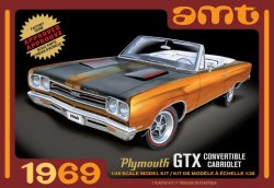 1969 PLYMOUTH GTX CONVERTIBLE. SKALA 1/25