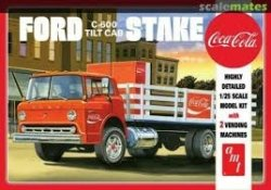 FORD C600 STAKE BED W/COCA-COLA MACHINES. SKALA 1/25