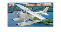 CESSNA 150 FLOAT PLANE W/2 MARKING OPTIONS. SKALA 1/48
