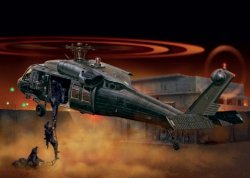 UH-60/MH-60 BLACK HAWK NIGHT RAID SKALA 1:72
