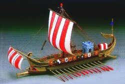 ROMAN WAR SHIP SKALA 1:72