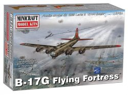 B-17G FLYING FORTRESS. SKALA 1/144