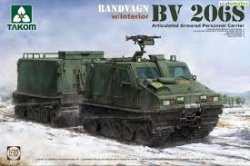 BANDVAGN BV 206SARTICULATED PERSONNEL CARRIER- COMPLETE INTERIOR SKALA 1/35