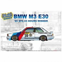 BMW M3 E30 88 SPA 24h WINNER.