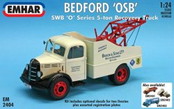 BEDFORD S wb. RECOVERY TRUCK. SKALA 1/24