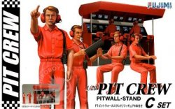 PIT CREW PITWALL STAND (SET C) SKALA 1:20