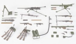 US INFANTRY WEAPONS SET. SKALA 1/35