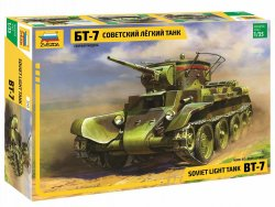 SOVIET LIGHT TANK BT-7. SKALA 1/35