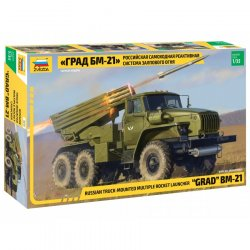 "BM-21 ""GRAD"" MULTIPLE ROCKET LAUNCHER SKALA 1:35"