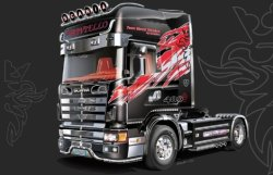 "SCANIA 164L TOPCLASS ""SHOWTRUCKS"" SKALA 1:24"
