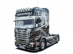 SCANIA R730 STREAMLINE SHOWTRUCK. SKALA 1/24