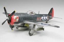 REPUBLIC P-47M THUNDERBOLT. L=230mm. SKALA 1/48