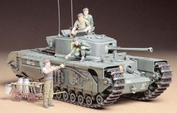 BRITISH TANK Mk.IV CHURCHILL MkVII. SKALA 1/35