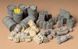 ALLIED VEHICLES ACCESSORY SET. SKALA 1/35