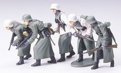 GERMAN INFANERY WINTER GEAR. SKALA 1/35