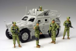 JAPAN ASSISTANCE TEAM IRAQ 5 FIGURER. SKALA 1/35