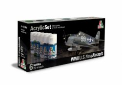ACRYLIC SET (6 st.) US NAVY AIRCRAFT