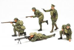 WWI BRITISH INFANTRY SET. SKALA 1/35