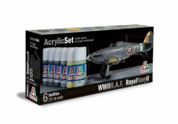 ACRYLIC SET (6 st.) R.A.F./ROYAL NAVY II