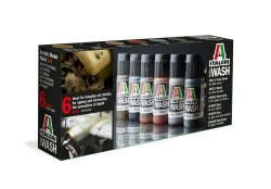 ACRYLIC MODEL WASH SET (6x20 ml FLASKA