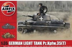 GERMAN LIGHT TANK Pz.Kpfw.35(T). 140X59 mm. NIVÅ 3 AV 4. SKALA 1/35