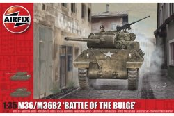 USA. M36/M36B2. BATTLE OF THE BULGE. 213X87 mm. NIVÅ 3 AV 4. SKALA 1/35