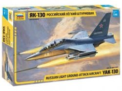 YAK-130 RUSSIAN TRAINER / FIGHTER SKALA 1:48