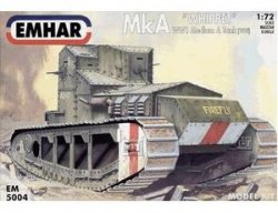 "MK A ""WHIPPET"" WW1 MEDIUM TANK SKALA 1/72"