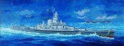 USS MASSACHUSETTS BB-59 SKALA 1:350