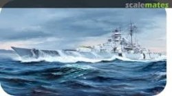 GERMAN BISMARCK BATTLESHIP. SKALA 1/350