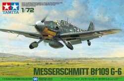 MESSERSCHMITT Bf109 G-6. L=125 mm. SKALA 1/72