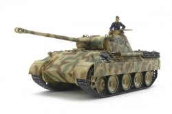 GERMAN TANK PANTHER AUSF. D. SKALA 1/48. L=186mm.