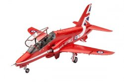 1974 BAe HAWK T.1 RED ARROWS.. SKALA 1/72. 70 DELAR. STORLEK: 161X130 mm.
