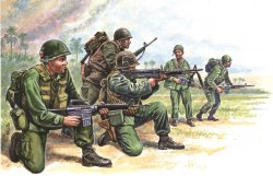 AMERICAN SPECIAL FORCES. VIETNAM. 50 st. SKALA 1/72