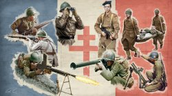 WWII: FRENCH INFANTRY SKALA 1/72
