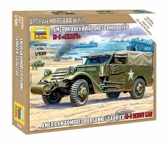 ARMORED CAR M-3 SCOUT. SKALA 1/100