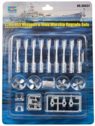 USS MISSOURI & IOWA WARSHIP UPGRADE SET SKALA 1:200