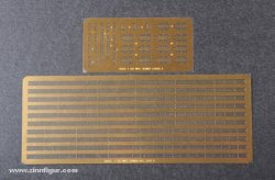 HANDRAILS & PHOTO ETCHED SHEET. FOR SKALA 1/350 KRIGSFARTYG (OBS! ENDAST 1 EX. KVAR)