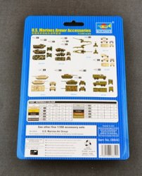 U.S. MARINES ARMOUR ACCESSORIES 14 ARMORED CARS. SKALA 1/350