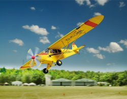 PIPER SUPER CUB. SKALA 1/24