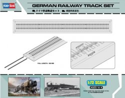 GERMAN RAILWAY TRACK SET SKALA 1:72