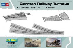 GERMAN RAILWAY TURNOUT SKALA 1/72
