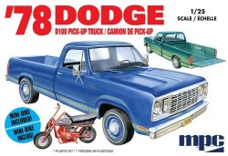 1978 DODGE D100 CUSTOM PICKUP. SKALA 1/25