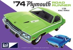 1974 PLYMOUTH ROAD RUNNER. SKALA 1/25