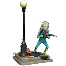 MARTIAN WARRIOR FROM MARS ATTACKS. SKALA 1/8